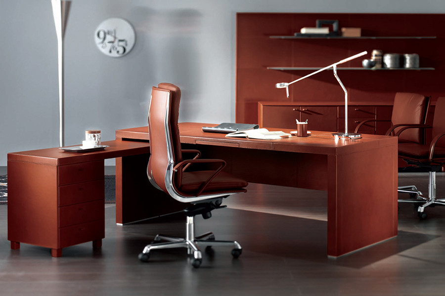 Athena - Leather Desk2