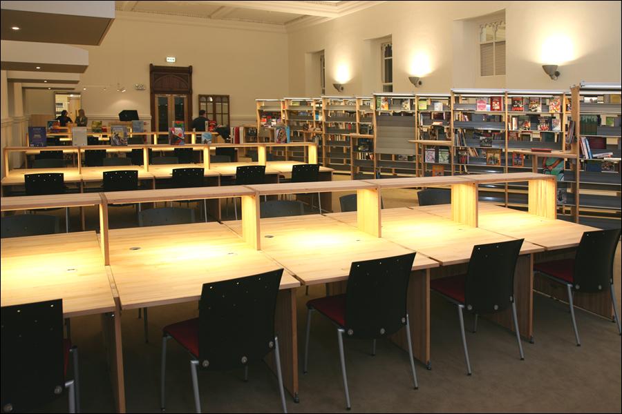 Clongowes Wood College Library Desks International