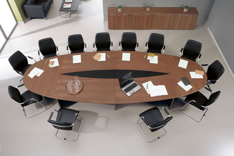 Multi meeting table desks international your space for Meeting table design 3d