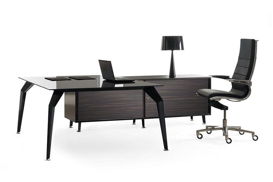 Actium Executive Glass Desk