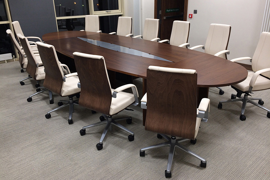 MultiMeeting Table Desks International Your Space Our Product - Large square conference table